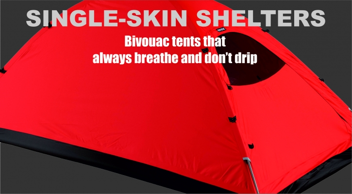 Single-Skin Shelters  sc 1 st  Crux UK & Single-Skin Shelters | Crux UK | Clothing | Backpacks | Tents ...